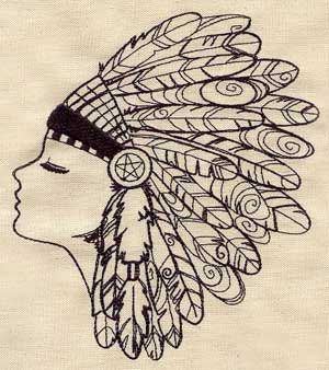 300x338 Image Result For Pen And Ink Drawings Of Native Americans Tats