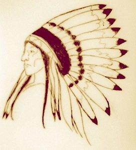 272x300 Indian Headdress Drawings