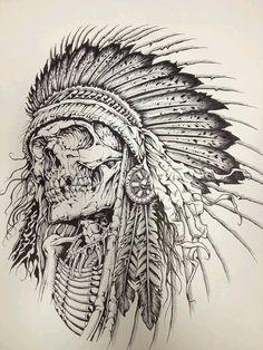 236x314 Skullheaddress By Herrerabrandon60 On Guaton Tattoo