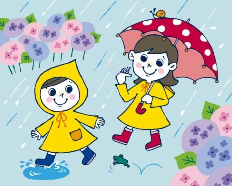 462x370 Rainy Day Cartoon Rainy Season Drawing Cartoon Rainy Day