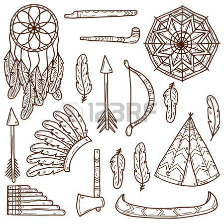450x450 686 Native American Tomahawk Cliparts, Stock Vector And Royalty