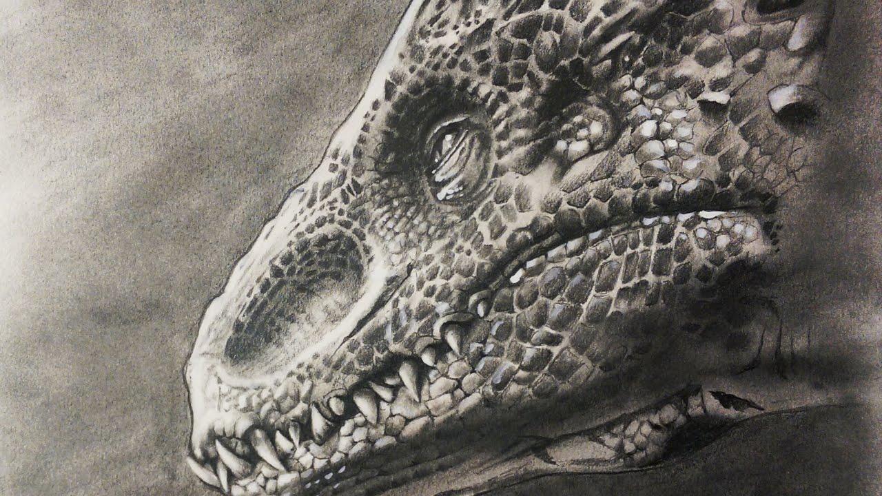 1280x720 Drawing Indominus Rex From Jurassic World