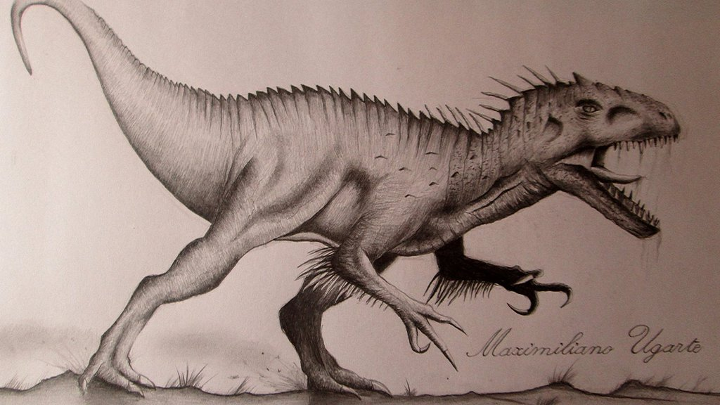1024x576 Indominus Rex Drawing By 121199
