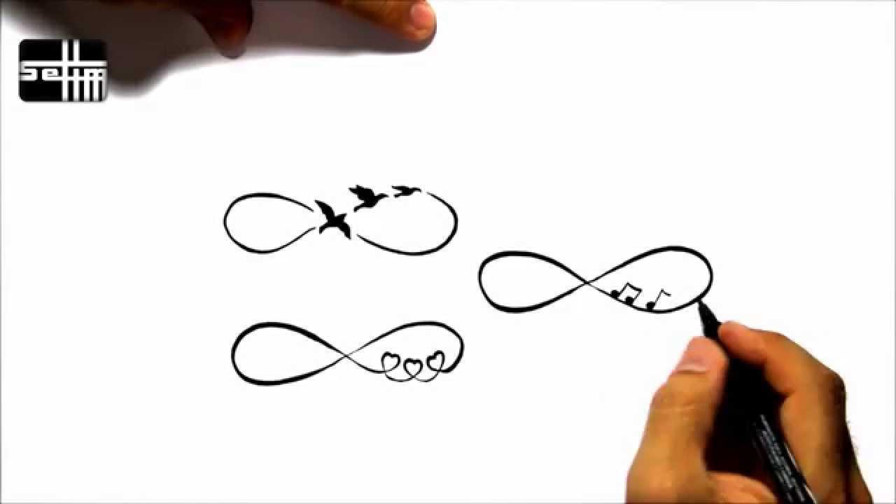 1280x720 How To Draw 4 Infinity