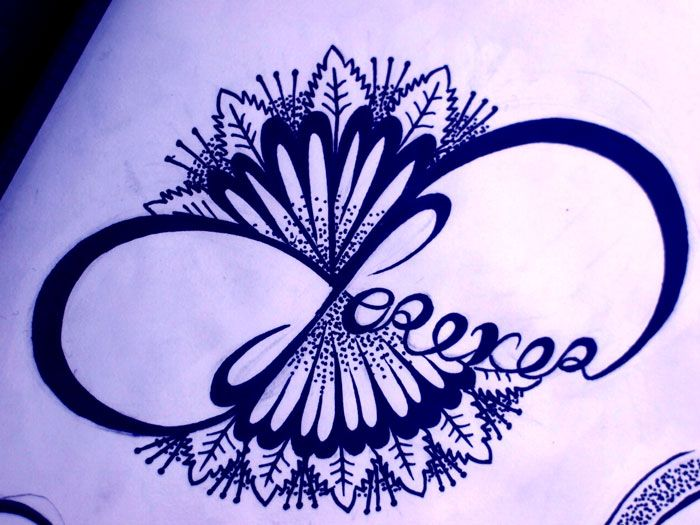 700x525 Infinity Drawing For Tattoo Bocetos
