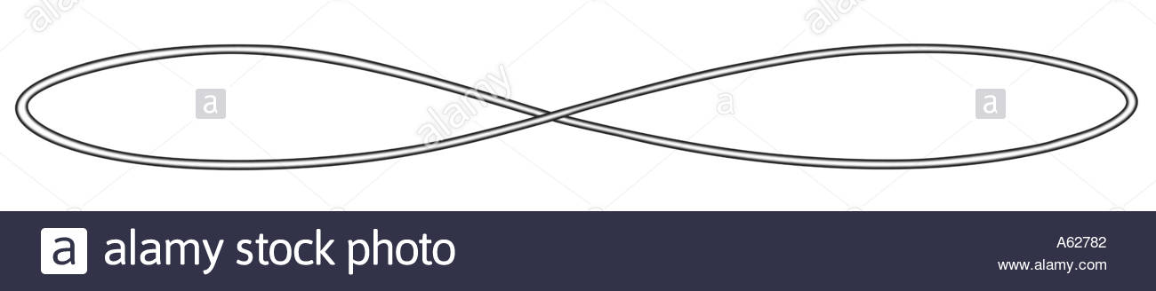 1300x328 Line Drawing On Infinity Symbol Stock Photo 403330