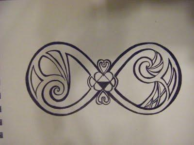 400x300 Infinity Symbol Bubble Infinity Symbol, Tatoos