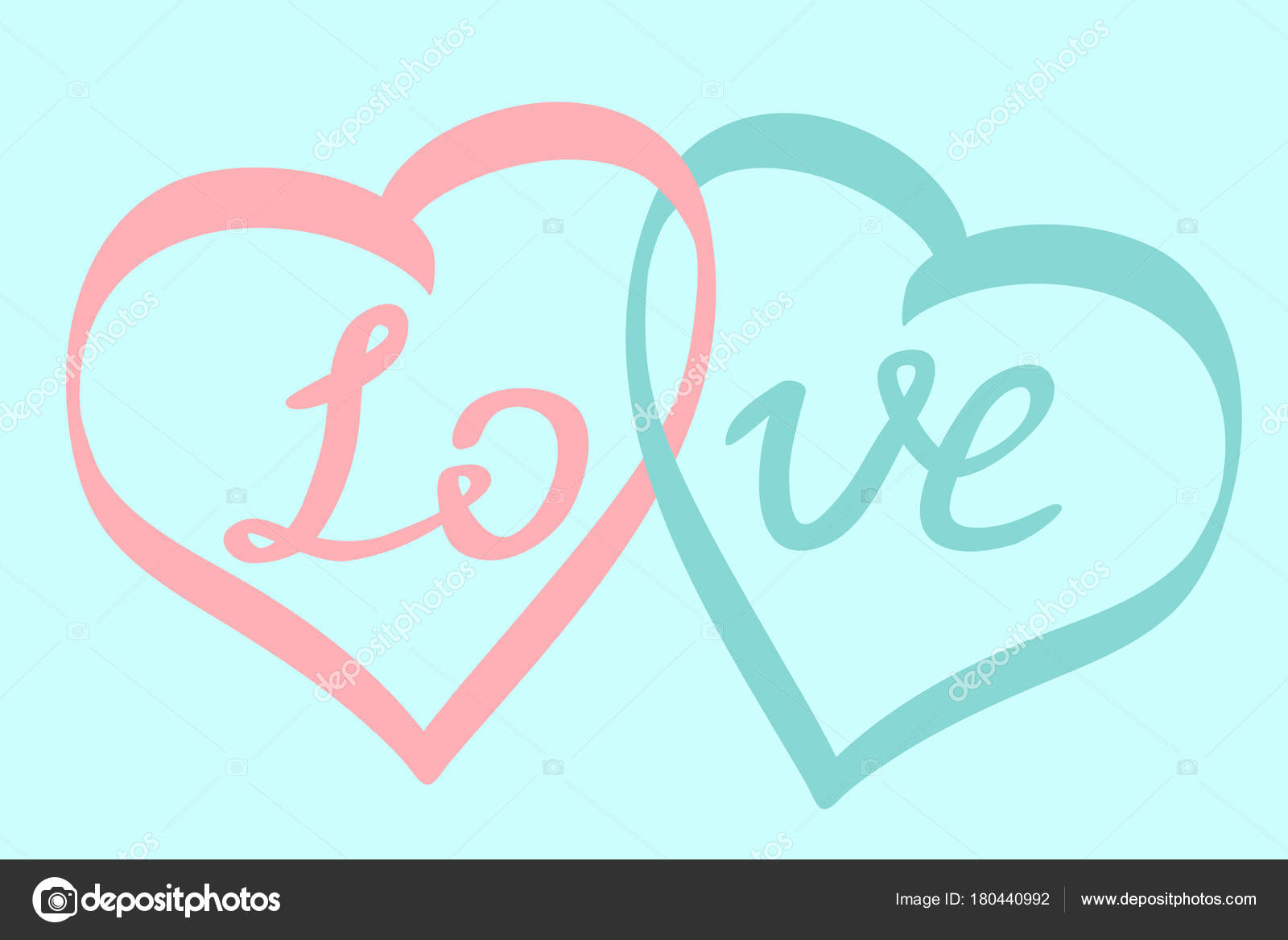 1600x1167 Two Hearts Together Word Love Symbol Happy Valentine Day Infinity