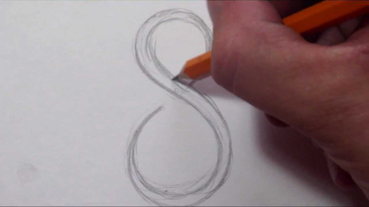 1280x720 How To Draw A Simple Tribal Number 8
