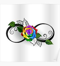 210x230 Infinity Symbol Drawing Posters Redbubble