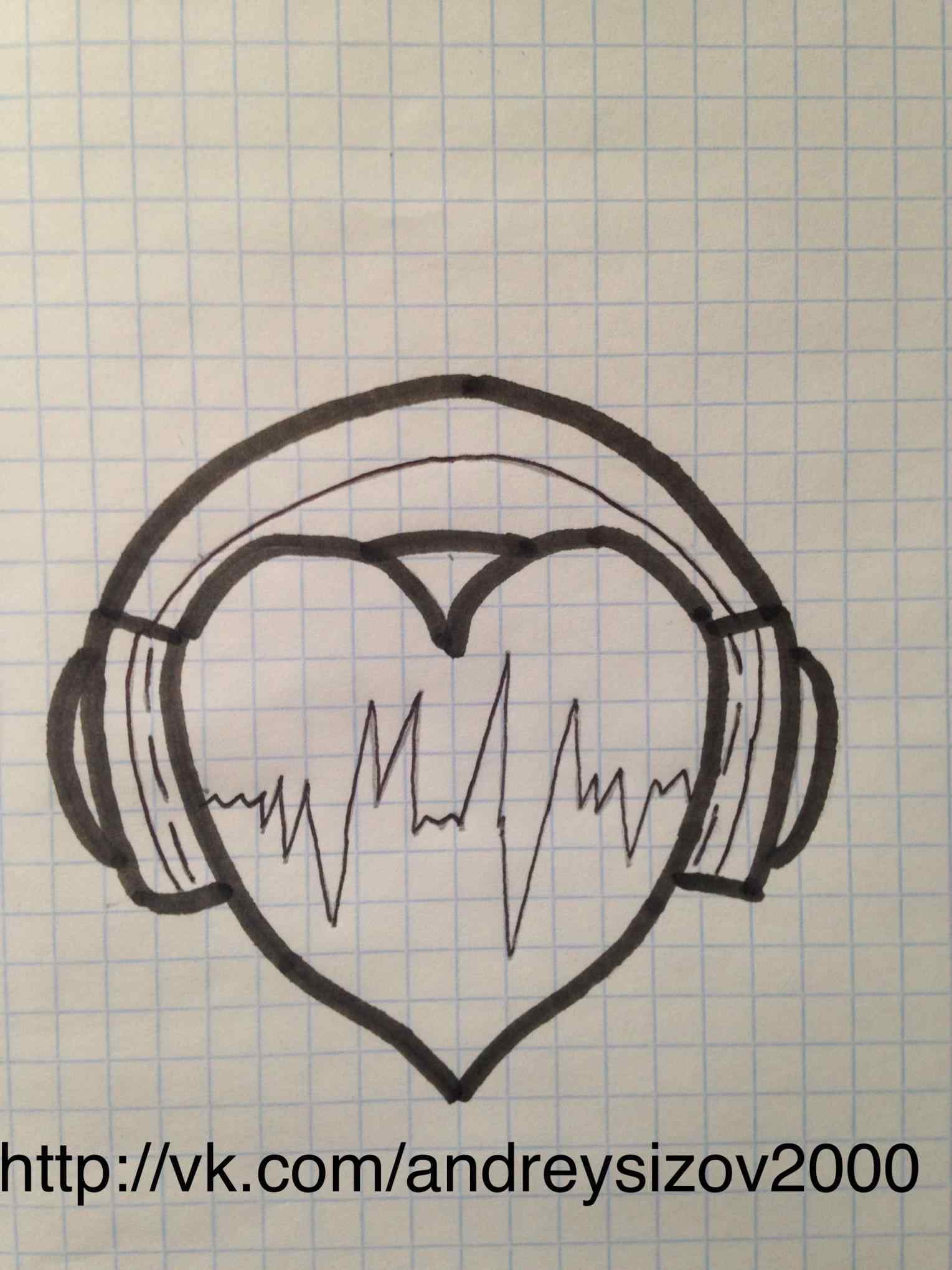 1529x2039 Pencil And In Color Drawinfo Drawinfo Headphones Music Drawings