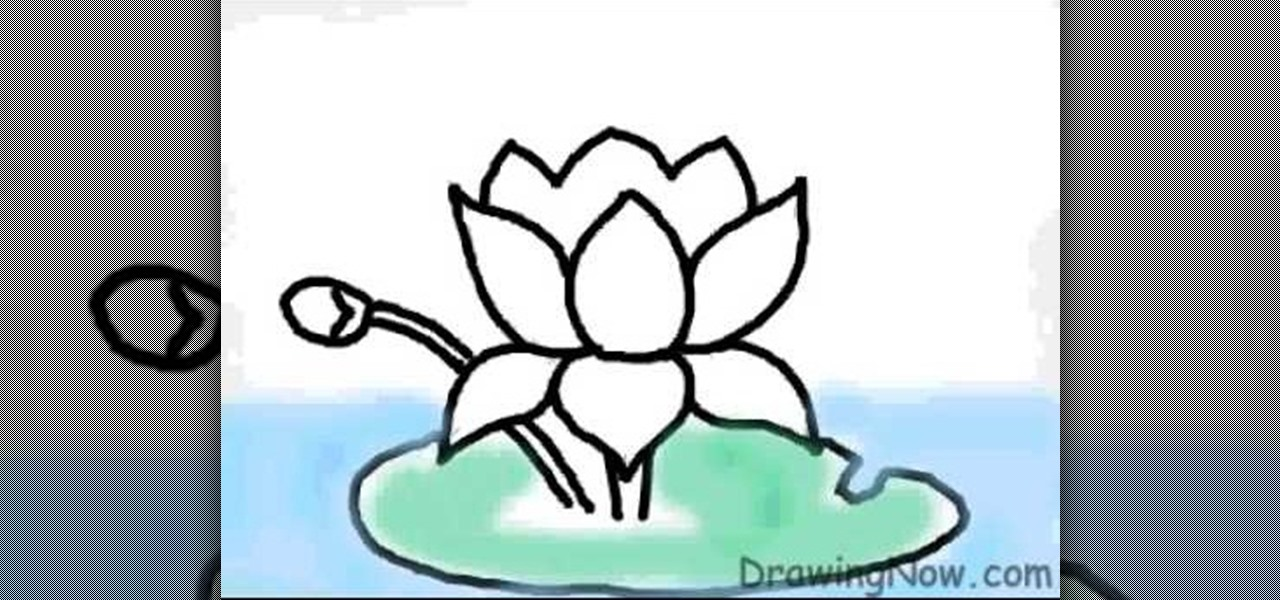 1280x600 How To Draw A Lotus Flower On A Computer Drawing Amp Illustration
