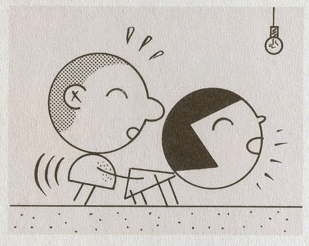 624x498 Illustration Art An Epidemic Of Circle Heads