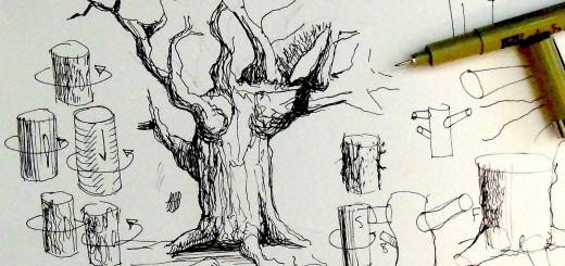 520x245 Ink Drawing Tutorial Hildur.k.o