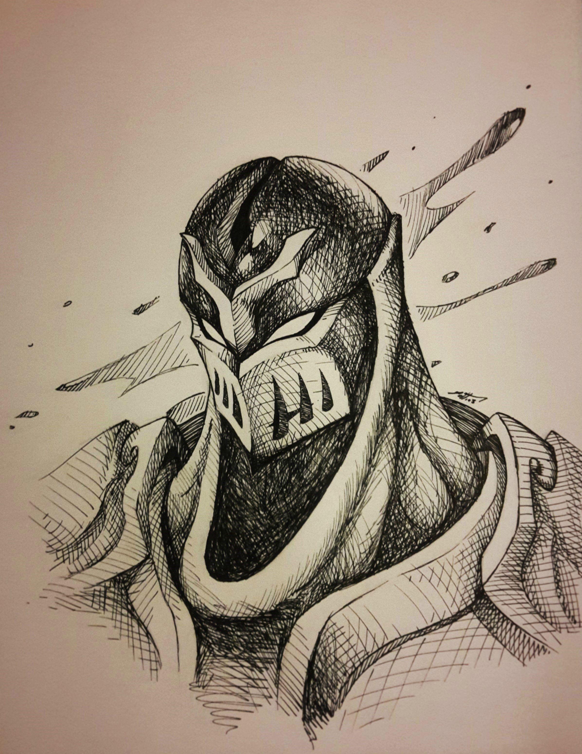 2393x3098 I Drew Orianna With An Ink Pen (Bonus Digital Drawing