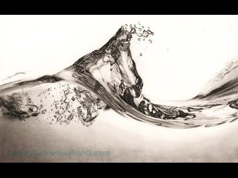 480x360 Living Water Drawing Realistic