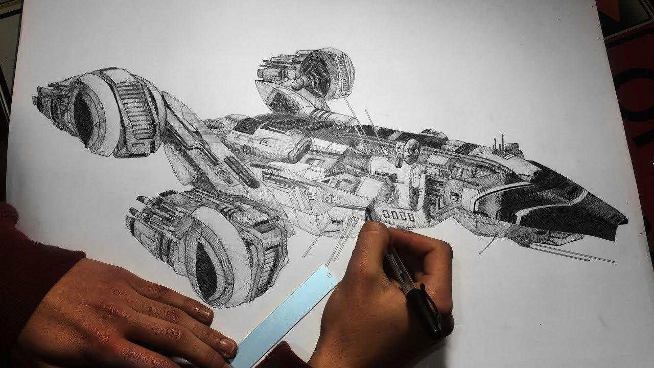 1280x720 Insane Ballpoint Pen Drawing Uscss Prometheus