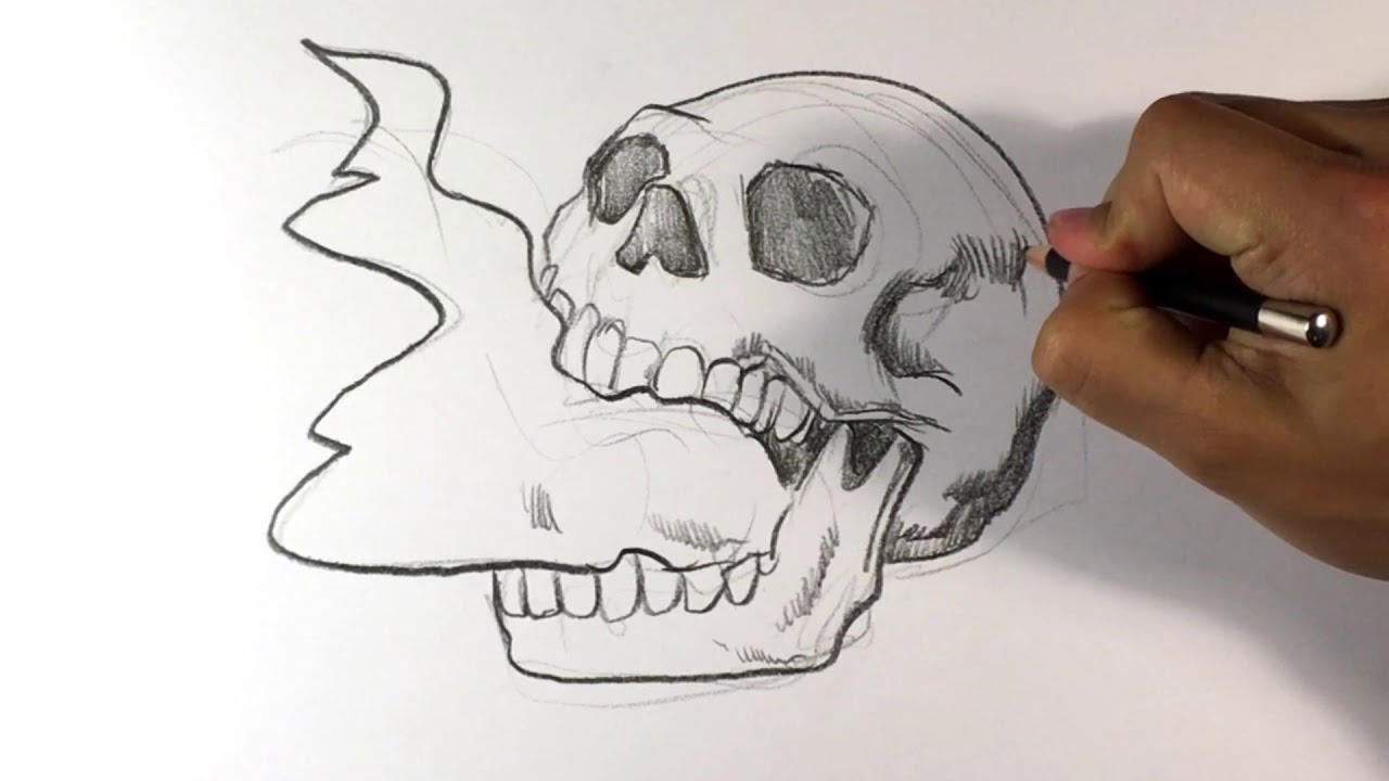 1280x720 Skull Head Design ( Insane )