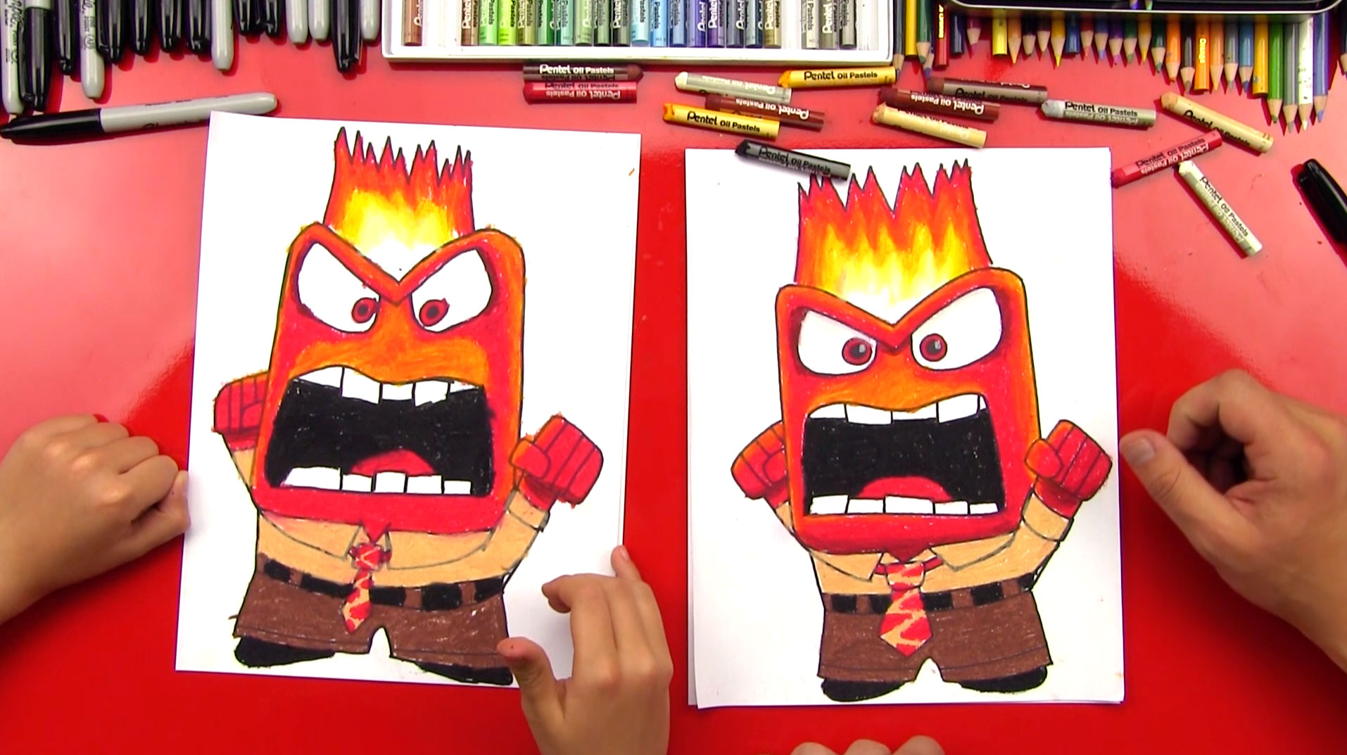 1914x1073 How To Draw Anger From Inside Out