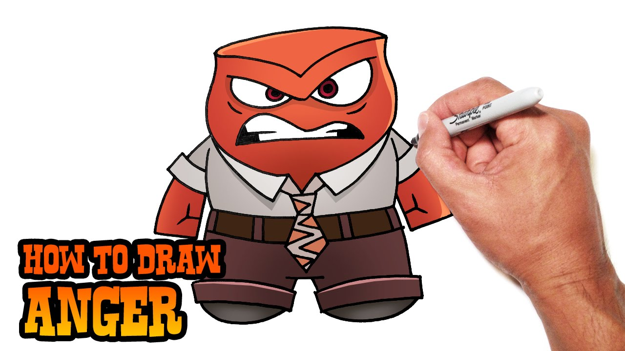 1280x720 How To Draw Anger Inside Out