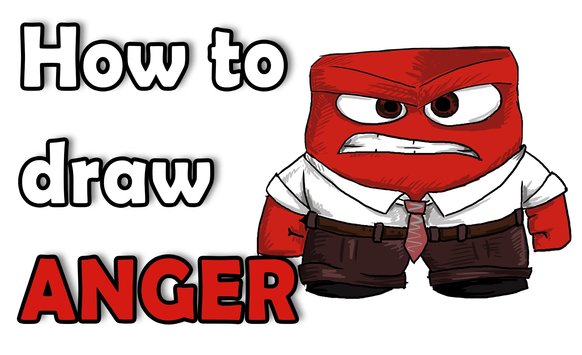 1888x1153 How To Draw Anger From Inside Out