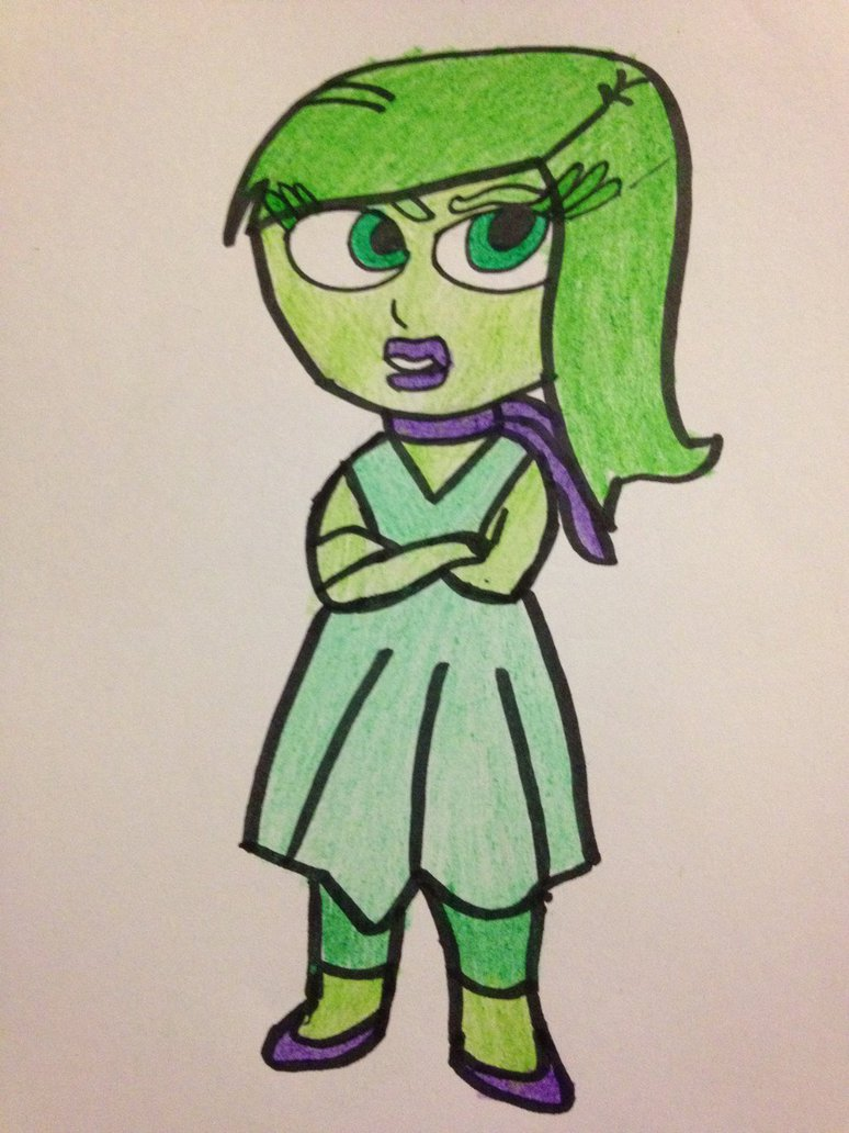Inside Out Disgust Drawing at GetDrawings.com | Free for personal ...