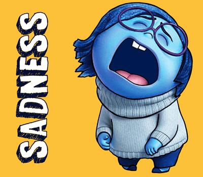 400x348 How To Draw Sadness From Inside Out With Easy Step By Step Drawing