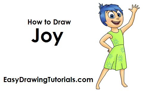 500x315 How To Draw Joy (Inside Out)
