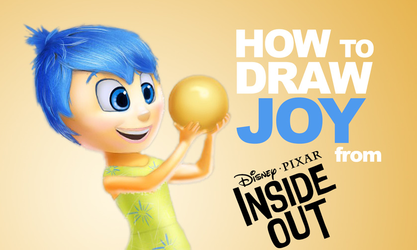 839x503 How To Draw Joy From Inside Out