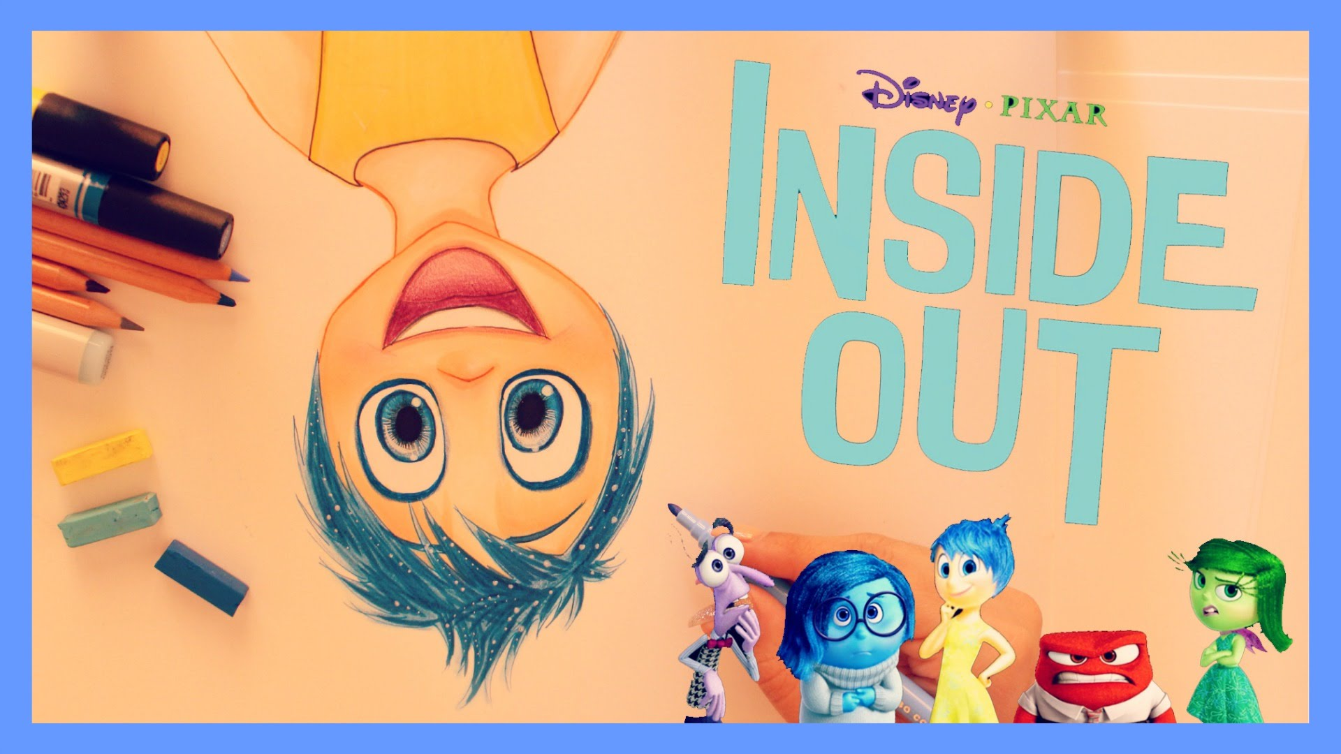 1920x1080 How To Draw And Color Joy From Inside Out