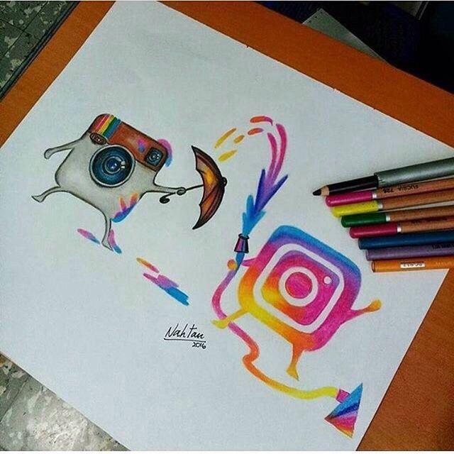 640x640 Instagram Novo Colorindo O Antigo Draw Draw