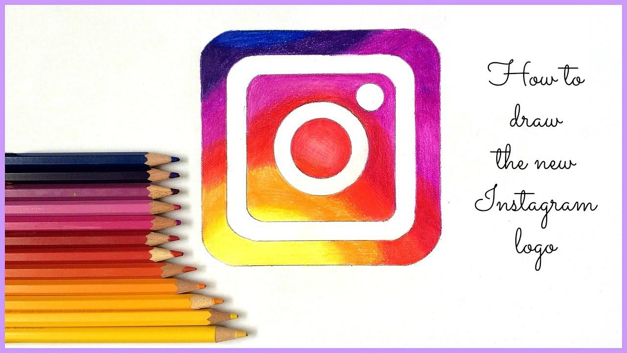 1280x720 Je Dessine Le Nouveau Logo Instagram