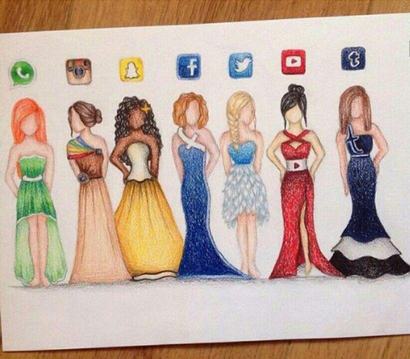 823x720 Whatsapp, Instagram, Snapchat, Facebook, Twitter, Youtube