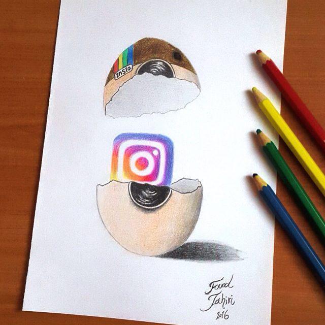 640x640 Instagram New Logo Egg By Fouadzahiri
