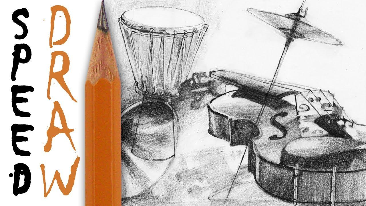 1280x720 How To Draw Instruments Jak Instrumenty