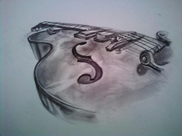640x480 The Instrument Drawing By Ashley Jahnke