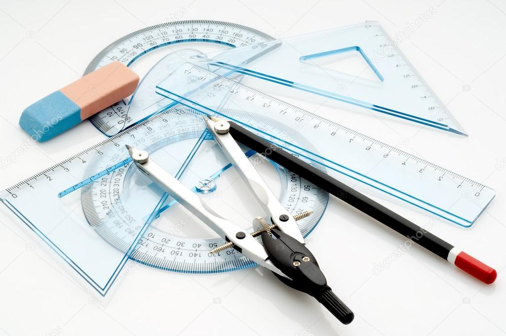 1024x680 Drawing Instruments Stock Photo Marcomayer