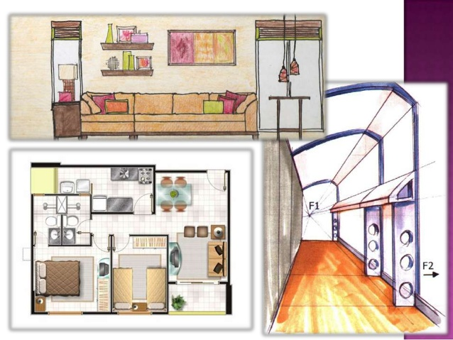638x479 drawing for interior design - Interior Design Learn