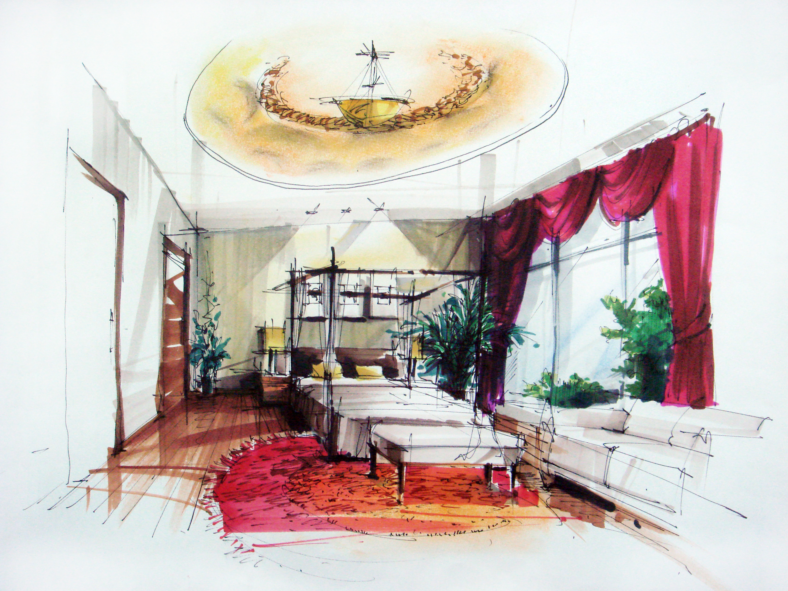 3072x2304 Interior Design Drawings