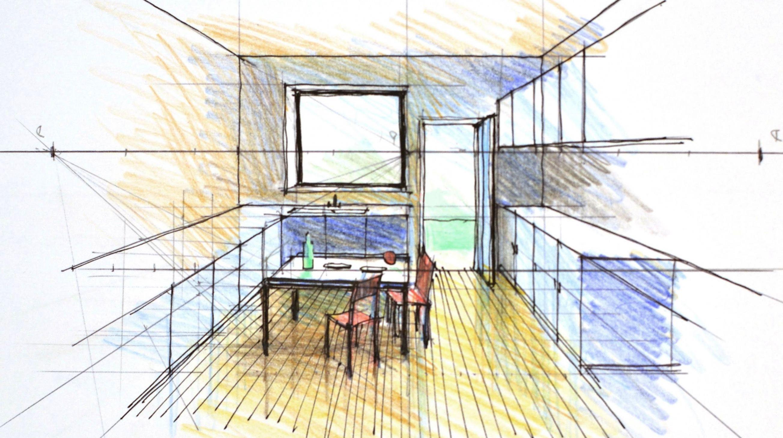 2608x1460 Delightful Interior Perspective Drawing Tutorial