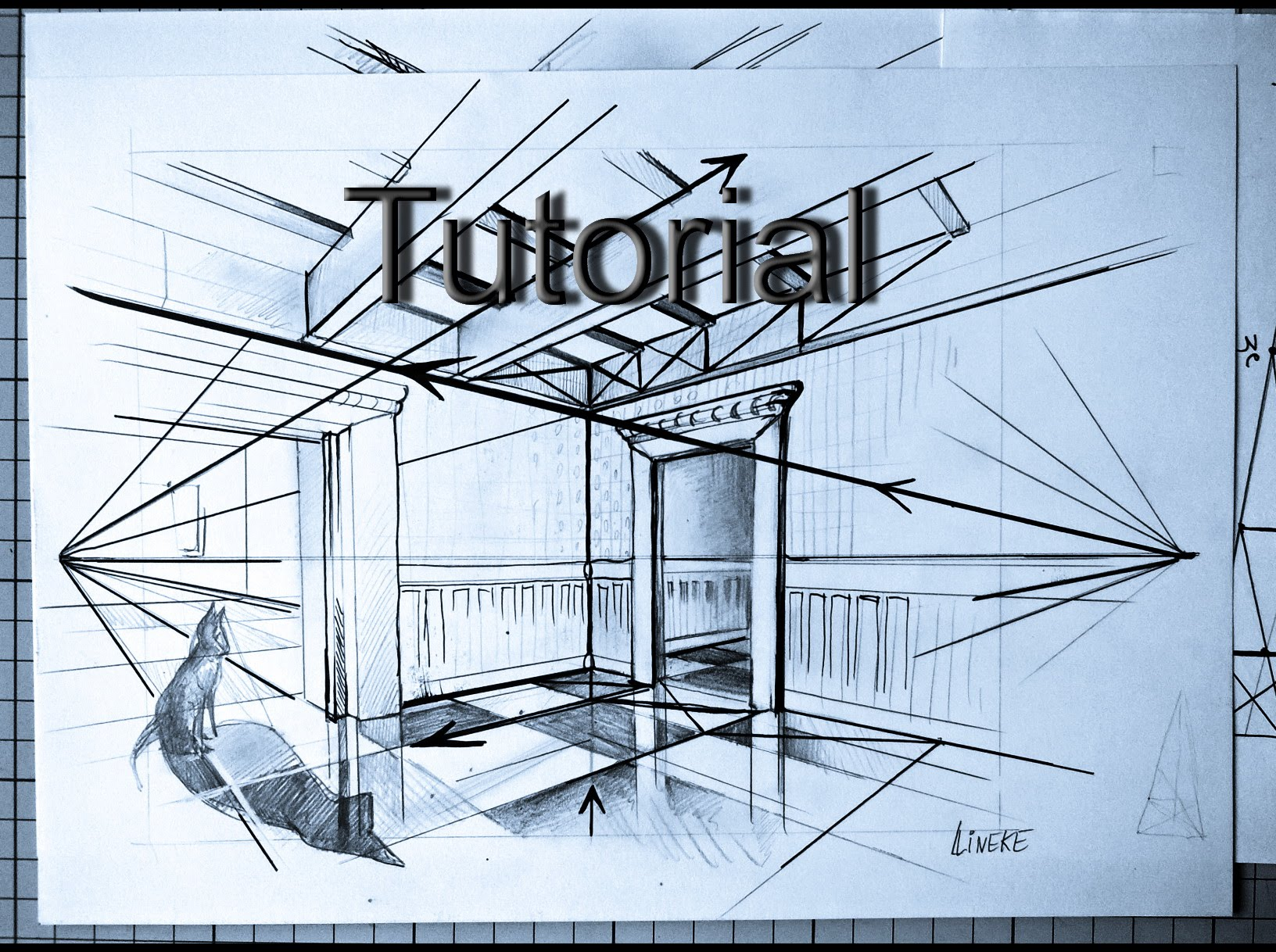 1632x1218 How To Draw Two Point Perspective Easy Drawing Tutorial