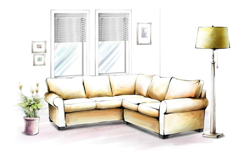 Interiors Drawing at GetDrawingscom Free for personal use