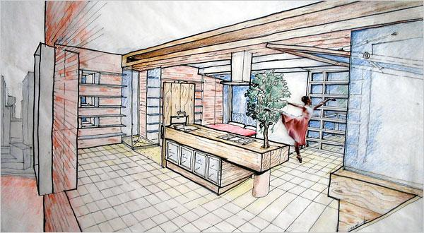600x330 Interior Design Drawing Interiors Design
