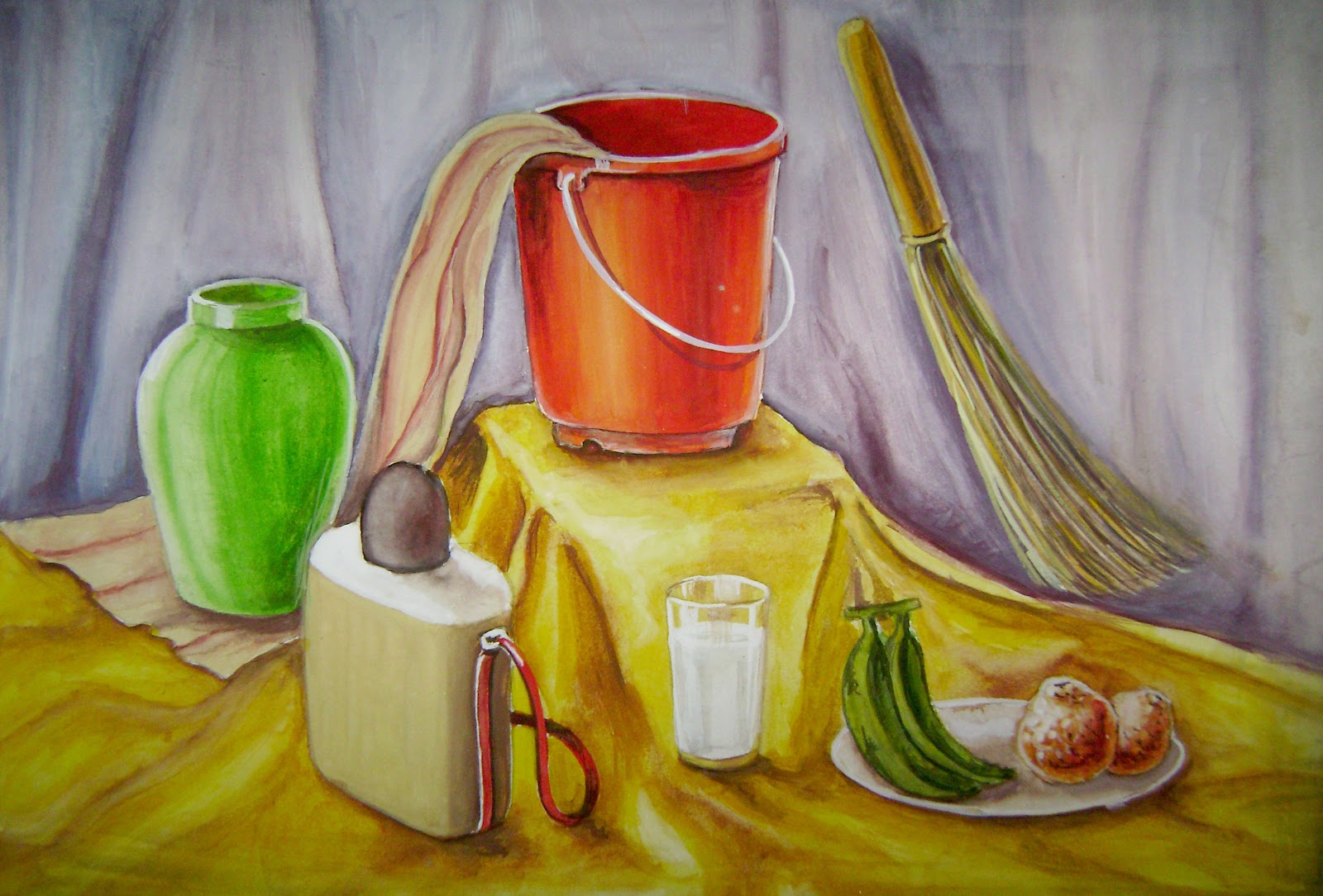 1600x1084 Intermediate Drawing Exam Still Life Images Sketch And Painting