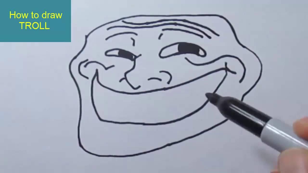 1280x720 How To Draw Internet Troll