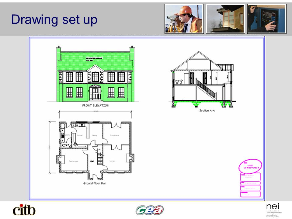 960x720 Interpret Drawings Of Domestic Structures. Drawing Layout