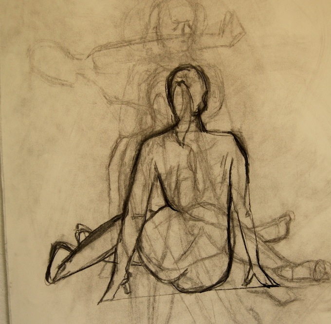680x665 To Nude Figure Drawing