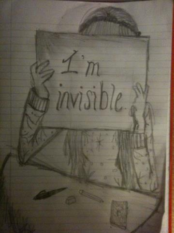 360x480 I'M Invisible. By Robynrockin