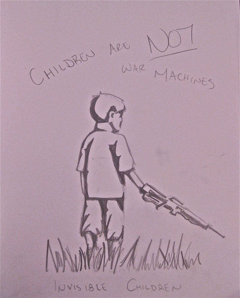 802x995 Invisible Children Drawing 2 By Flamingofire123