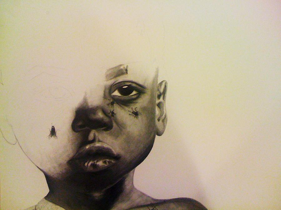 900x675 Invisible Tears Drawing By Jane Nwagbo